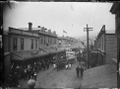 Procession in Jackson Street, Petone, celebrating the end of the South African War ATLIB 273154.png