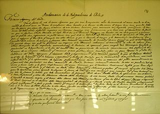 Chilean Declaration of Independence