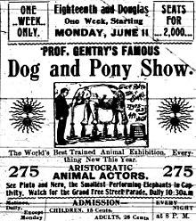 Dog and pony show - Wikipedia