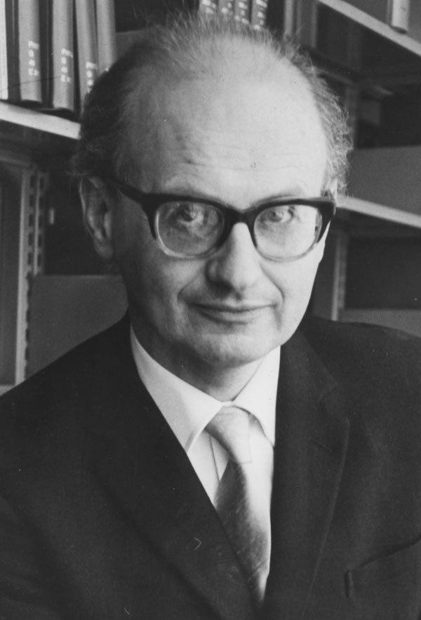 Professor Imre Lakatos, c1960s