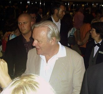 Anthony Hopkins - Hopkins at the 2005 Toronto International Film Festival