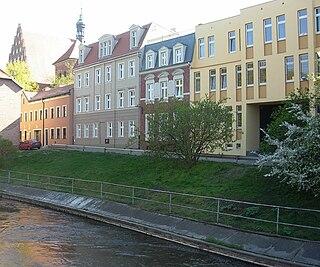 Przyrzecze Street in Bydgoszcz street in Bydgoszcz