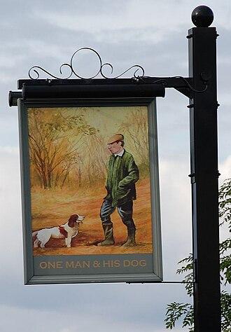 Phil Drabble - Pub sign