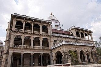 Pudukkottai district - King's Palace (Present District Colectorate), Pudukkottai