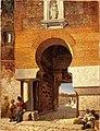 Puerta árabe de la plaza de armas en el puente de Alcántara de Toledo (Museo del Prado).jpg