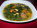 Pumpkin & Kale Soup with Italian Sausage (8392581993).jpg
