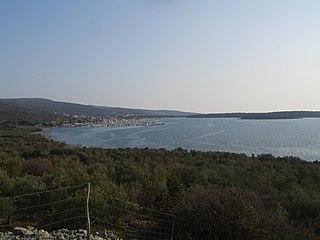 Punat Village/Municipality in Primorje-Gorski Kotar, Croatia