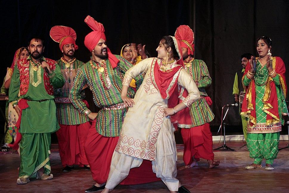 Punjabi Folk dance Gaidda Boliya and Bhangara 28