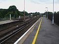 Purley station Caterham Branch Junction.JPG