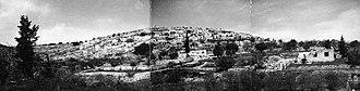 Qalunya - Qalunya panorama 10th April 1948