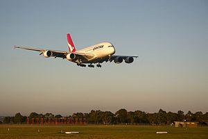 Qantas A380 lands and Melbourne Airport-edit2.jpg