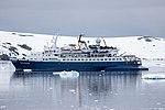 Quark Expeditions Ocean Adventurer Lemiare Channel Antarctica 2 (33461162148).jpg