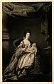 Queen Charlotte Sophia holding a baby (?). Process print. Wellcome V0015086.jpg