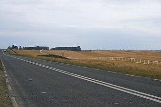 R445 road (Ireland) - The R445 through The Curragh between Kildare and Newbridge
