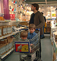 RIAN archive 114768 Inside the IKEA shopping center
