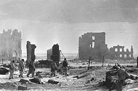 The center of Stalingrad after liberation RIAN archive 602161 Center of Stalingrad after liberation.jpg