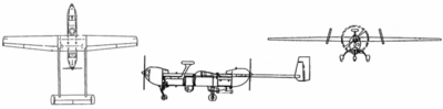 RQ-5 Hunter (drawing)