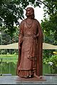 Rabindranath Tagore - Statue - Bengal Engineering and Science University - Sibpur - Howrah 2013-06-08 9321.JPG