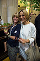Rachel Johnson and Emily Maitlis FT Summer Party 2014.jpg