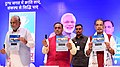 Radha Mohan Singh at the presentation of the NDDB Dairy Excellence Awards, on the occasion of the foundation day of National Dairy Development Board, at Anand, in Gujarat.jpg