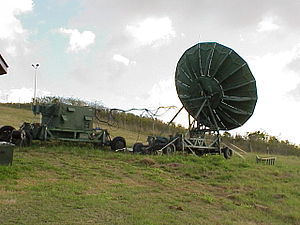 285th Civil Engineering Squadron - Image: Radio antenna US Virgin Islands Air National Guard