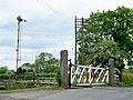 Railway Crossing near Kirkby Green - geograph.org.uk - 813020.jpg
