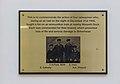 Railwaymen plaque, Hamilton Square Station.jpg