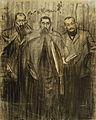 Ramon Casas - MNAC- Miquel Utrillo, Ramon Casas i Leandre Galceran- 027827-D 006653.jpg