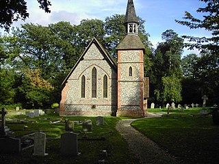 Ramsdell village in United Kingdom
