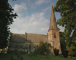 Ramsden, Oxfordshire - Image: Ramsden St James north