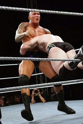 DDT (professional wrestling) - Randy Orton setting up the Spike DDT