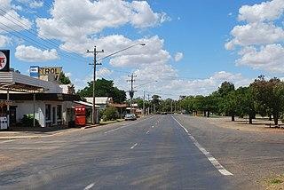 Rankins Springs Suburb of Carrathool Shire, New South Wales, Australia