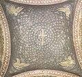 Ravenna, mausoleo di galla placidia, cupola con croce e simboli evangelisti (prima metà del V secolo).jpg