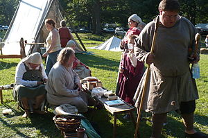 Regia Anglorum - Living History portrayed by Regia Anglorum members in Illinois, USA