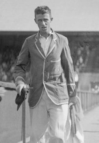 Jack Cummings (tennis) - Image: Regnar Olaf Cummings 1928