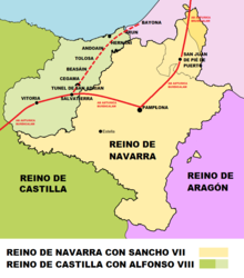 Camino De Santiago Vasco Del Interior Wikipedia La Enciclopedia Libre