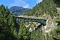Reith bei Seefeld - Zirl - Schlossbachgrabenbrücke mit S5 Richtung Scharnitz.jpg
