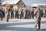 Relief and Appointment, CLR-2 welcomes Marines, sergeant major 130725-M-KS710-018.jpg