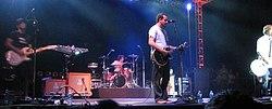 Relient K live at the Christian rock festival Purple Door 2006