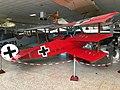 Replica Fokker DR.I at Museo de Aeronáutica y Astronáutica de España 01.jpg