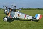 Replica Nieuport 17 23 'N1977 8' (G-BWMJ) (26653850787).jpg