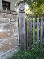 Residential building. Listed ID 10485. Fence, detail. - Csokonai St., Tihany, Hungary.JPG