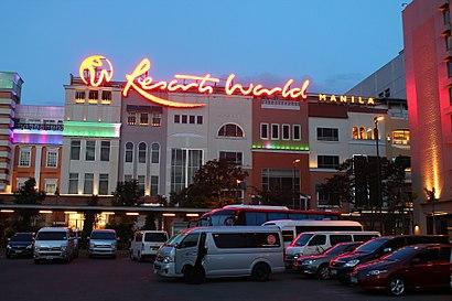Paano pumunta sa Resorts World Manila gamit ang pampublikong transportasyon - Tungkol sa lugar