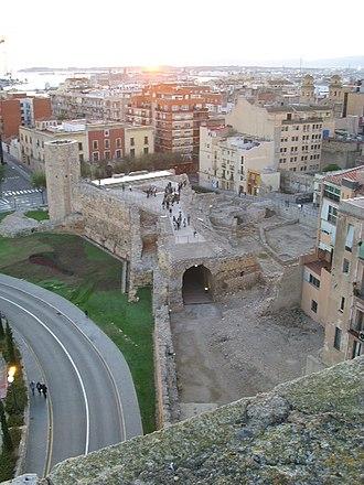 Archaeological Ensemble of Tárraco - Image: Restos do Circo Romano (8) (Tarragona)