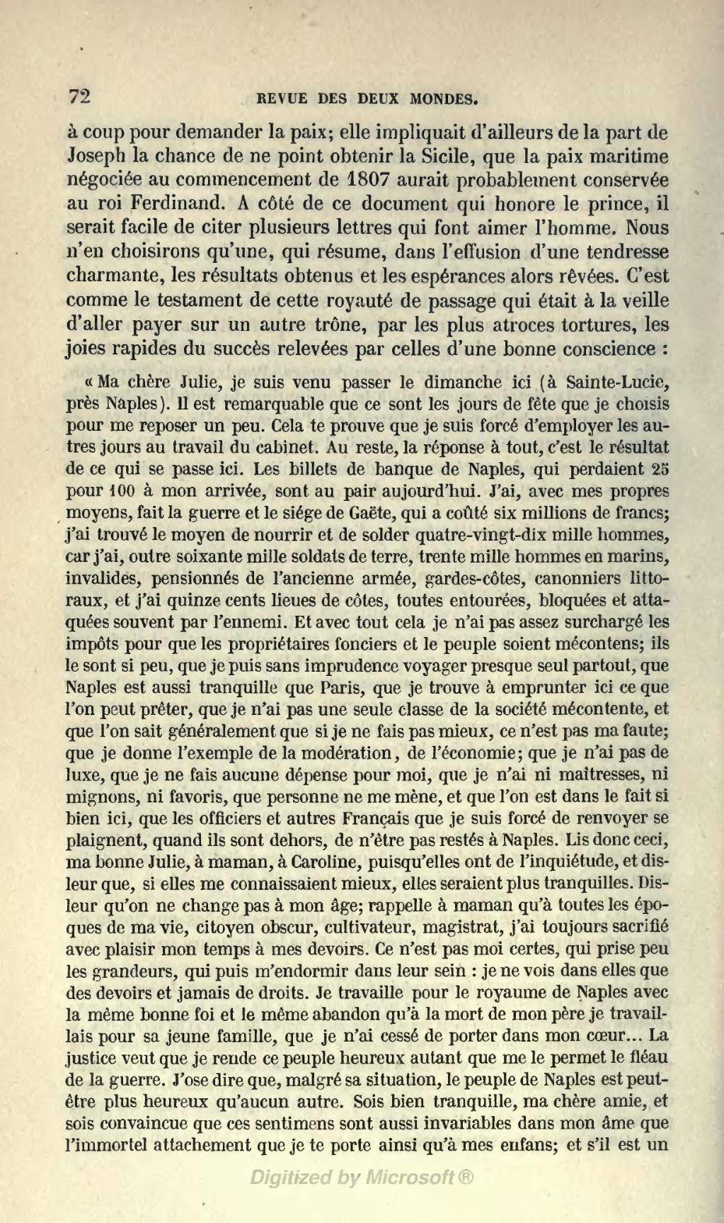 Page revue des deux mondes 1854 tome wikisource - Porter plainte pour abandon de famille ...
