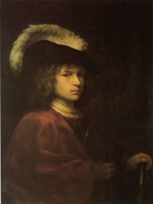 Reynier van Gherwen - Image: Reynier van Gherwen Portrait of a Young Man wearing a Plumed Hat