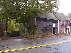 Richard Sparrow House - Image: Richard Sparrow House in Plymouth Massachusetts