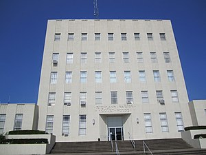 Richland Parish, Louisiana - Image: Richland Parish Courthouse, Rayville, LA IMG 0153