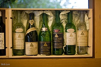 Paul Draper (winemaker) - An assortment of early Ridge wines made by the MonteBello winery that preceded the establishment of Ridge Vineyards.