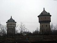 Riga, věže